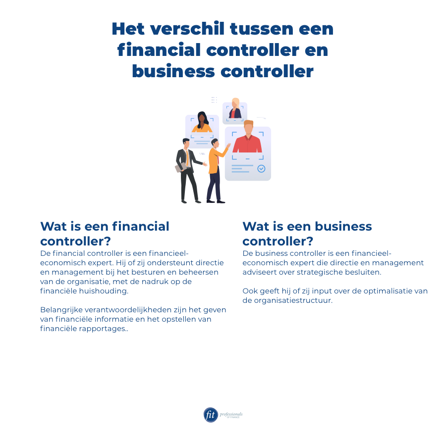 Verschil finance en business controller
