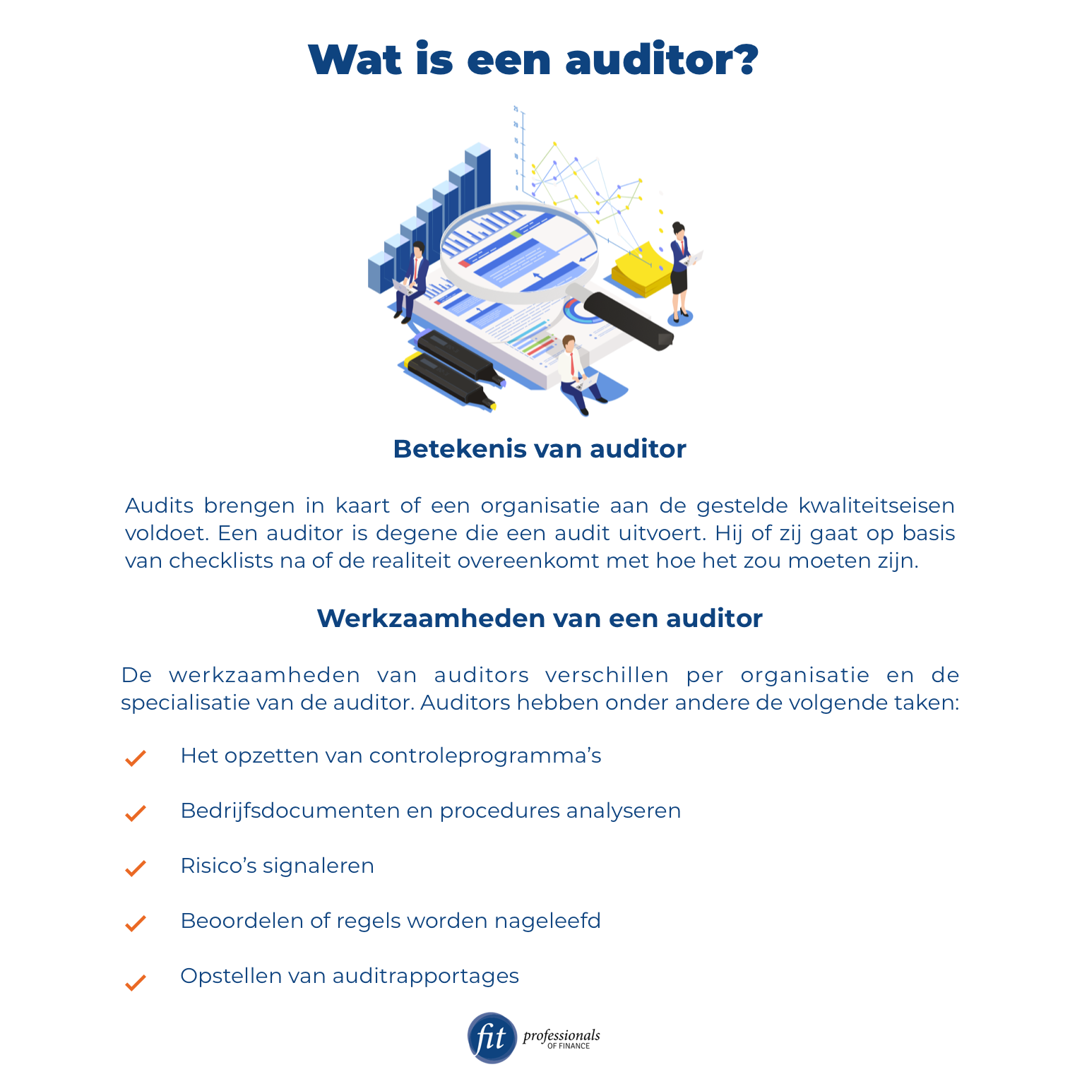 Wat is een auditor?